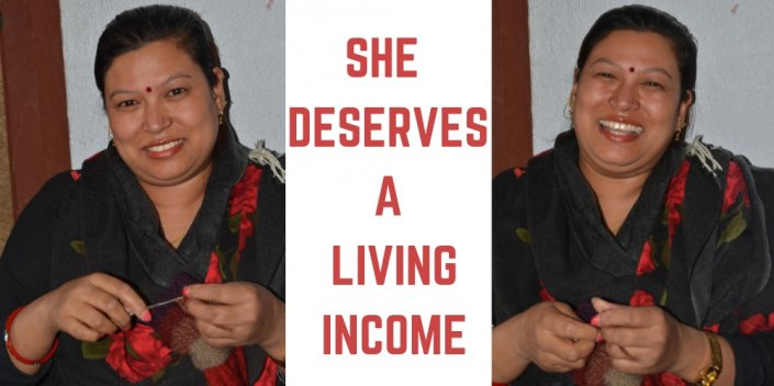She deserves a living income