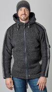 detachable hood - insert jacket - Charcoal/Grey