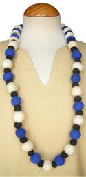 Two In One Necklace - Blue