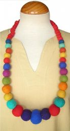 Graduated Necklace - Rainbow