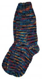hand knit socks - Multi Tone Assorted