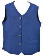 Classic waistcoat - fully lined - blue