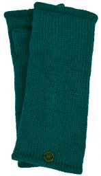 Fleece lined wristwarmer - Plain - Pacific