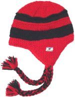 Snowboarder - Red And Black Stripe