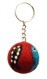 Fish Keyring - Red/Multicolour