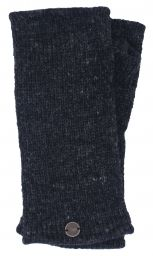 Fleece lined wristwarmer - Plain - Charcoal