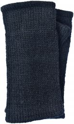 Children's Fleece Lined plain Wristwarmers - black