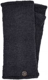 Fleece lined wristwarmer - Plain - Smoke