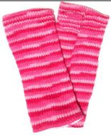Fleece lined wristwarmer - electric - Pink