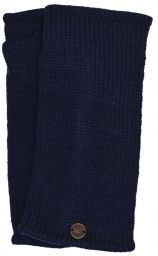 Fleece lined wristwarmer - Plain - Dark Blue