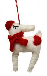 Hand made Felt - Christmas Decoration - Reindeer