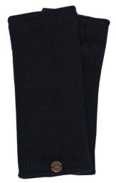 Fleece lined wristwarmer - Plain - Concert Black