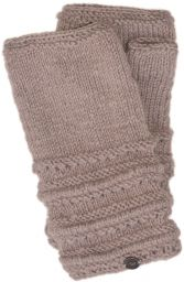 Pure Wool - Lace Ridge Wristwarmer - Haze