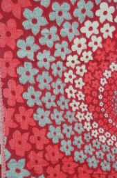 Swirl - Blanket/shawl - Red