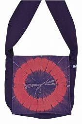 Sunburst - long handled bag - purple