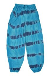 Batik harem trousers - blue