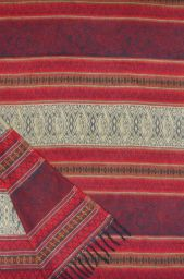 Exquisite - blanket/shawl - Maroon