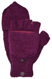 Classic - plain mitt - deep berry