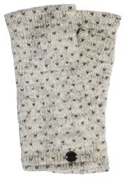 Fleece lined wristwarmer - tick - Pale Grey