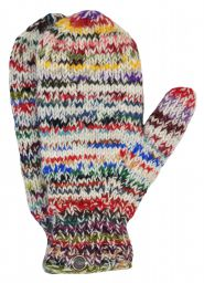 Fleece lined mittens - Electric - Light