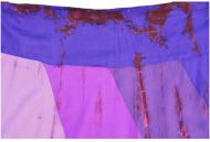 Panel Skirt - Tie Dyed - Pink/Purple