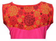 ***SALE*** - Cut out detail - sleeveless tunic - pinks