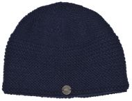 Airman's beanie  - pure new wool - dark blue