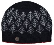Spruce Beanie - Black and Red