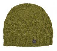 2fe680acaea Pure Wool - Trellis Diamond Beanie - Green