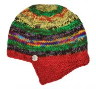 Half fleece lined - helmet hat - Bright Electric