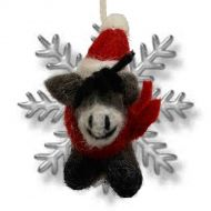 Felt - Christmas Decoration - Donkey