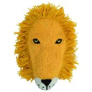 Animal head - hand felted - Lion