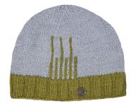 ee7024f4385 Pure Wool - Deco Beanie - Green Grey