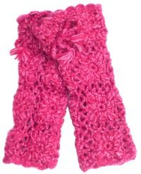 Leg warmer - crochet pattern - pink