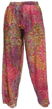 Peacock Trousers - Pink