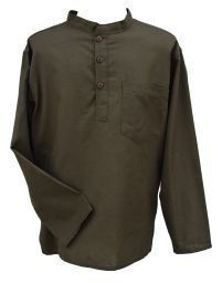 Flax shirt - Green