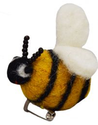 Felt - Brooch - Bee