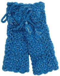 Leg Warmer - crochet pattern - Blue