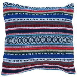 Cushion Cover - Cotton Gheri Front - Cover Denim Blue