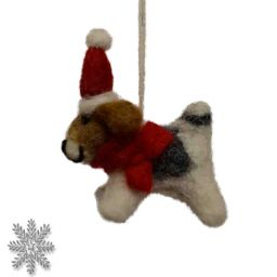 Felt - Christmas Decoration - Dog
