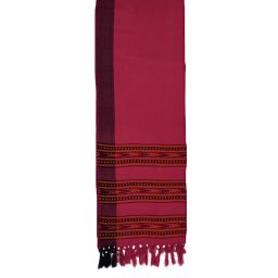 Narrow scarf - arrow - warm pink