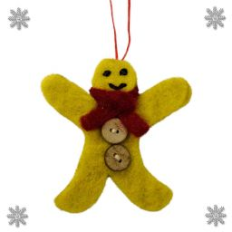 Felt - Christmas Decoration - Gingerbreadman