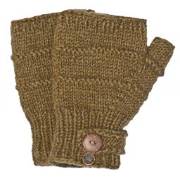 Fleece lined - half mitt - riidge - Khaki