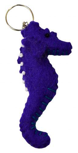 Felt - Keyring - Seahorse - Purple