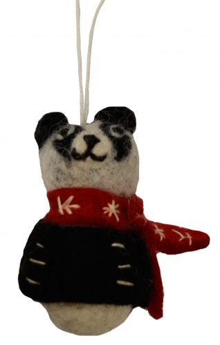 Felt - Christmas Decoration - Panda