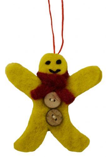 Felt - Christmas Decoration - Gingerbread Man