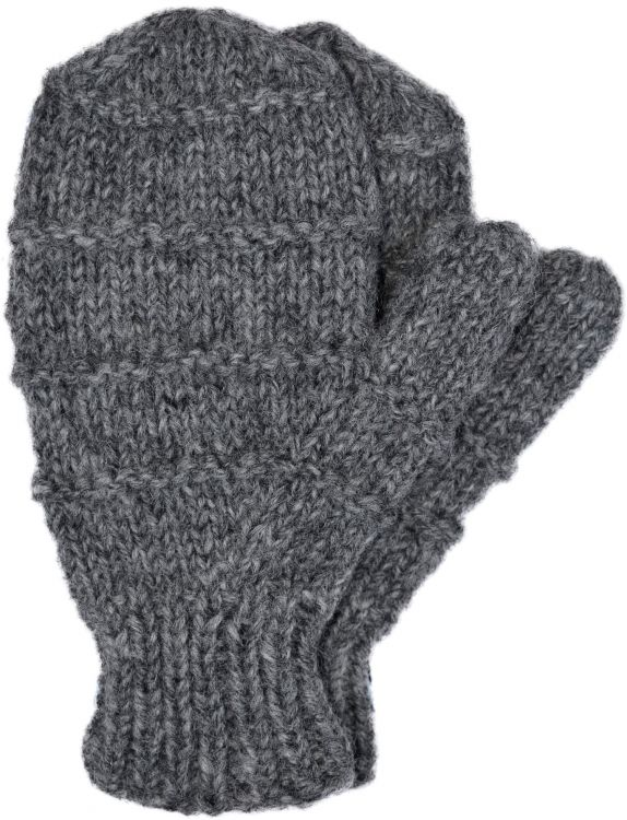 Children's fleece lined - ridge mittens - grey