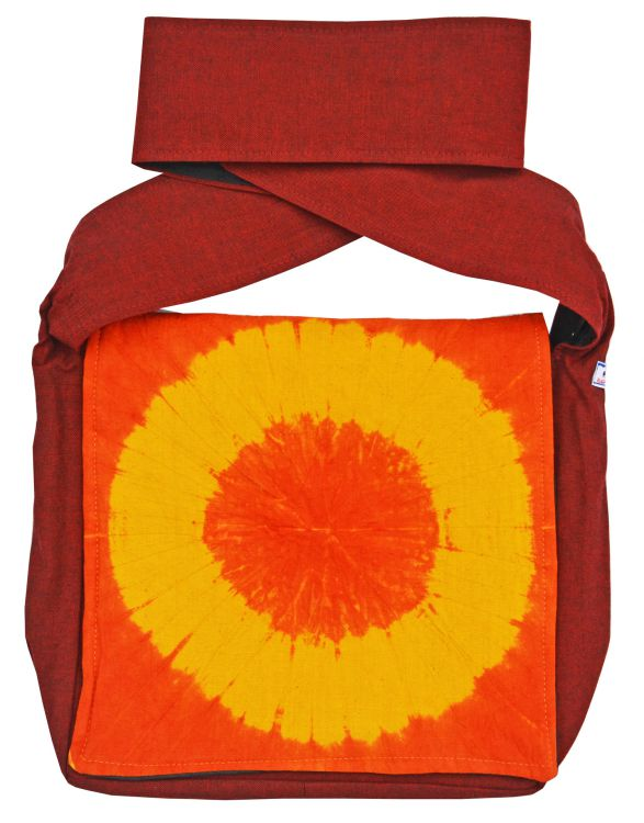 Sunburst - long handled bag - spice
