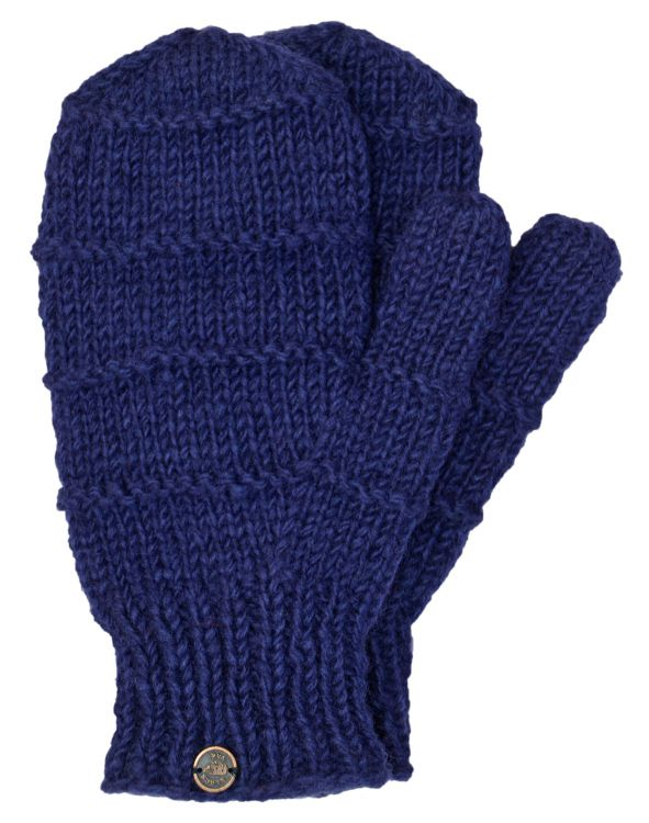 Fleece lined mittens - Ridge - Dark Blue