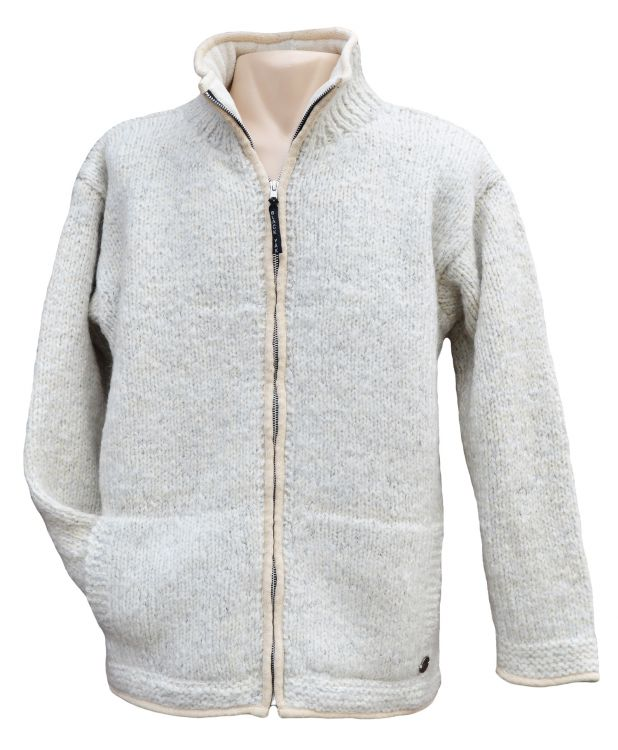 jacket -fine wool mix  - Pale Grey